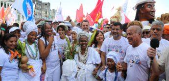 PCdoB-BA defende um projeto de igualdade para Salvador no 'Bonfim'