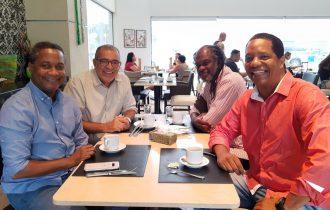 PCdoB, PT e PSB de Salvador se reúnem para discutir convergências
