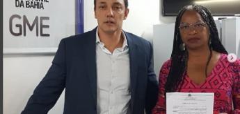 Olívia Santana registra notícia-crime sobre fake news contra ela