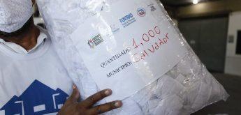Setre entrega 1 milhão de máscaras de proteção para municípios da Bahia