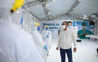 Zó celebra a inauguração do Hospital de Campanha de Juazeiro